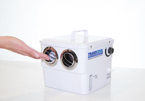 Transcool – přenosný 12V odpařovací chladič vzduchu